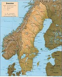 Scandinavia On Map Sweden Maps Perry Castañeda Map Collection Ut Library Online