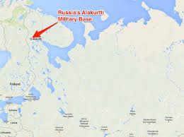 Map Of United States Military Bases by Russian Arctic Base Miles From Finnish Border Business Insider