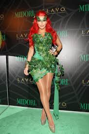 halloween party in new york city kim kardashian green halloween costume