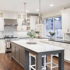 Kitchen Island With Seating For 5 Here Are 5 Top Kitchen Trends For 2017 1 White Cabinets Are