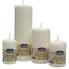 top quality unscented church pillar candles non drip