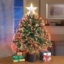 color changing fiber optic table top artificial tree ebay