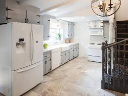 white kitchen cabinets tile floor kitchen tile flooring options how to choose the best