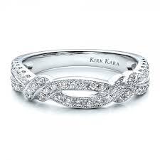 kirk kara wedding band diamond split shank wedding band with matching engagement ring