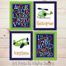 Abc Nursery Decor Aviation Nursery Decor Baby Boy Nursery From Hollypop Designs