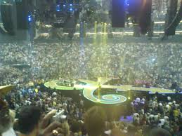 panoramic view of o2 not a bad seat in the place page 3