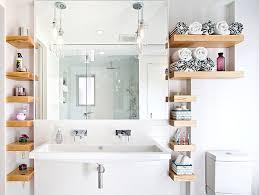 bathroom modern bathroom storage in small space u2014 exposure