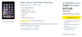 amazon black friday ipad air 2 amazon prime pantry credit returns u0026 cheap ipads u0026 more in best