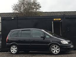 opel zafira 2003 used vauxhall zafira 2003 for sale motors co uk