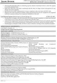 sle electrical engineer resume australia model electrical engineer resume templates europe tripsleep co