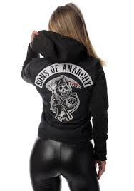 Sons Anarchy Costume Halloween Women U0027s Sons Anarchy Denim Highway Jacket Sons Costumes Tvs