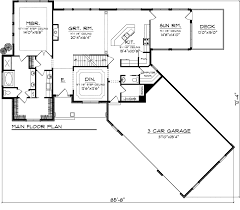 garage house floor plans fashionable design ideas 10 1 story house plans with angled garage