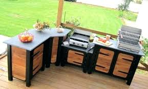 meuble cuisine exterieure cuisine exterieure bois meuble fabriquer cuisine exterieure en bois