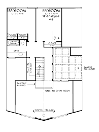 grants cabin a frame home plan 072d 1095 house plans and more