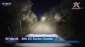 30 led light bar combo rigid industries 30 sr2 e2 led light bar comparison youtube