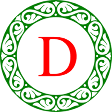 monogram christmas letter d christmas monogram clip at clker vector clip