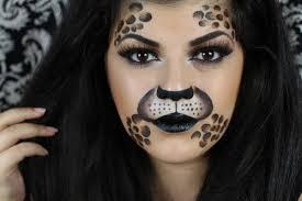 Jigsaw Halloween Makeup Leopard Print Makeup Tutorial For Halloween Youtube