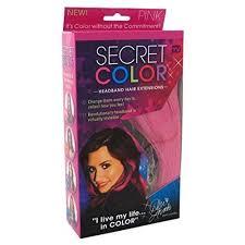 headband hair extensions secret color headband hair extensions pink walmart