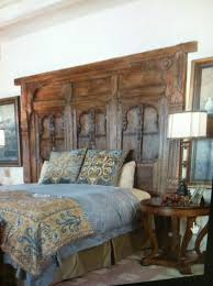 Headboard From Old Door by King Size Headboard Made Out Of Old Doors Garmon Ferry