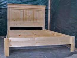 bed plans bed frame plans easy diy wood project plans