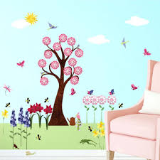 Decoration Wall Decals For Teens by Wall Decor Wall Ideas 70 Winsome Hanging Vine Watercolor Peel