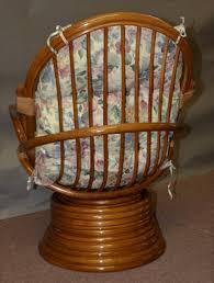Rattan Swivel Rocker Cushions Aruba Rattan Swivel Chair Suspension Seating Wicker Country