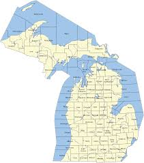 Map Of Northern Wisconsin by Northern Michigan Wikipedia