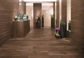 wooden laminate flooring in contemporary home bathroom design idea
