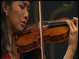 Blind Violinist Famous Nancy Zhou Sibelius Violin Concerto I 2 2 Youtube