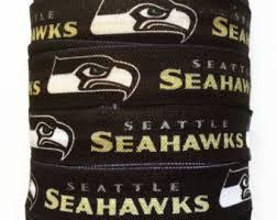 seahawk ribbon seahawks elastic etsy