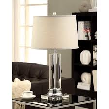 Overstock Com Tiffany Floor Lamps by Crystal Column Table Lamp Overstock Best Inspiration For Table Lamp