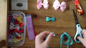 how to make baby hair bows tutorial how to make baby velcro hair bows for baby