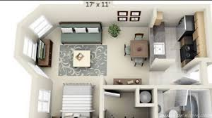 studio apartment floor plans youtube