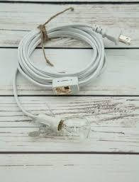Pendant Light Cable Star Lantern White Pendant Light Lamp Cord E12 Base 11 Ft On