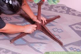 how to put up an artificial tree 8 steps