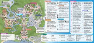 Adventure Island Orlando Map by Updated Magic Kingdom Park Map Available March 2015