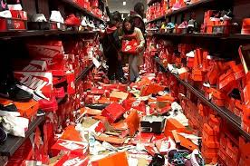black friday getting ready target meme black friday shoppers completely destroyed this nike store