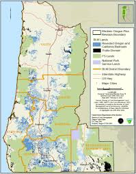 Oregon Map Of Counties by Western Oregon Blm U2014 Andy Kerr Oregon Conservationist Writer