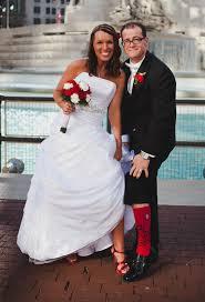 wedding dresses in st louis st louis cardinals baseball themed wedding sports wedding
