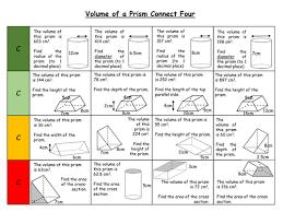 volume of prisms grade c level 7 by arthompson1987 teaching