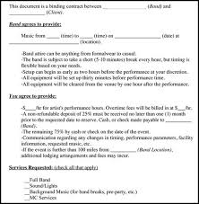 event coordinator contract template wedding contract template 13
