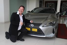 lexus v8 south africa cmh lexus delivers first lexus lc500 in south africa