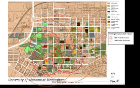 Florida State University Campus Map by Uab Parking Fees U0026 Maps