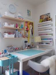 Craft Rooms Pinterest by Love The Picture Shelves Turned Storage On Right Shelves Like
