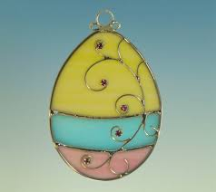 glass easter egg ornaments 357 best stained glass patterns images on stained