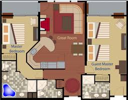 bedroom plans cape codder residence club floor plans two bedroom fractional