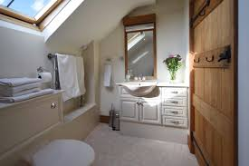accommodation the barn at beechcroft bath with shower over