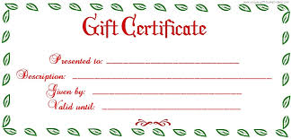 tree badge christmas gift certificate template giftcertificate
