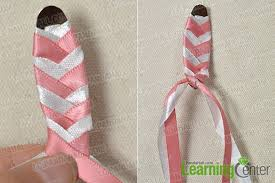 ribbon hair clip how to make lovely pink ribbon hair with acrylic for