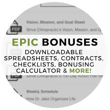 Downloadable Spreadsheets The Epic Associate Freedom Growth Legacy